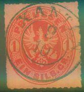 XANTEN Zentrischer Vollstempel Nr. 16 - Preussen