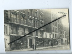 CPA  - Levallois - La Rue Victor Hugo  -  (Boulangerie Pâtisserie ) - Levallois Perret