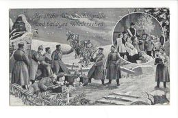 17324 - Herzliche Weihnachtsgrüsse Und Baldiges Wiedersehen 1915 - Natale
