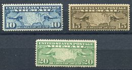 US  C7-C9 (**)  Mnh  Complete Set - Air Mail