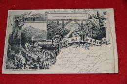 Nordrhein Westfalen  Mungsten Gruss 1896 Sent To Tambach - Deutschland