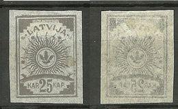 LETTLAND Latvia 1919 Michel 11 C * - Latvia