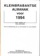 "Klein Brabant "" Kleinbrabantse Almanak 1994 "" - Histoire"