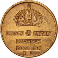 Suède, Gustaf VI, Ore, 1960, TTB+, Bronze, KM:820 - Suède