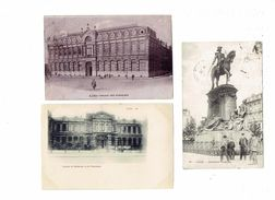 Lot 3 Cpa 59 LILLE - Palais Des Facultés - Faculté De Médecine Et De Pharmacie - Monument - Lille