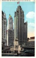 Etats Unis - Illinois - Chicago - Tribune Tower And Medinah Athletic Club - A 9543 - Chicago