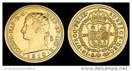 JOSE I NAPOLEON 320 Reales 1.810 Madrid Oro SC/UNC  Réplica    T-DL-10.421 - Non Classificati
