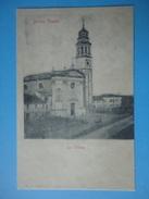 Boara Pisani - La Chiesa - Riproduzione Cartolina D'epoca - Padova (Padua)