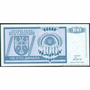 TWN - BOSNIA-HERZEGOVINA 135a - 100 Dinara 1992 Prefix AA UNC - Bosnie-Herzegovine