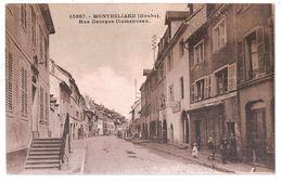 CPA 25 MONTBELIARD RUE GEORGES CLEMENCEAU RARE !! - Montbéliard