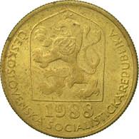 Tchécoslovaquie, 20 Haleru, 1988, TTB, Nickel-brass, KM:74 - Czechoslovakia