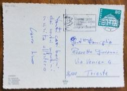 SPORT  PATTINAGGIO CAMPIONATI EUROPEI DI PATTINAGGIO ARTISTICO E RITMICO  ZURIGO 1971 ANNULLO SPECIALE A TARGHETTA - Pallamano