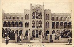 Ref V177- Libye - Tripoli - Grand Hotel   - Carte Bon Etat - - Libië