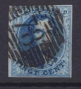 N° 11 A Margé Perception 78 MALINES - 1858-1862 Médaillons (9/12)