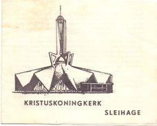 Kristuskoningkerk - Sleihage - Geschiedenis - Ontwerp Architect De Smedt Kortrijk - 1962 - Non Classés
