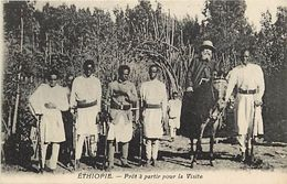 Ref V168- Ethiopie - Gambo - Pret A Partir Pour La Visite  - Carte Bon Etat - - Ethiopie