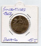 Monaco - 1962 - 50 Centimes - (MW340) - Monaco