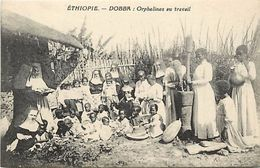 Ref V164- Ethiopie - Dobba - Orphelines Au Travail  - Carte Bon Etat - - Ethiopie