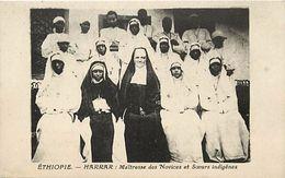 Ref V163- Ethiopie - Harrar - Maitresse Des Novices Et Soeurs - Carte Bon Etat - - Ethiopie
