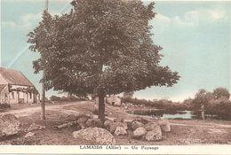 03 Allier  : Lamaids Un Paysage     Réf 3293 - France