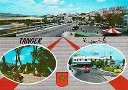 1 AK Marokko * Ansichten Der Stadt Tanger - Die Spanische Allee - Mendubia - Der Französische Platz * - Tanger