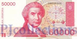 CROATIA 50000 DINARA 1993 PICK 26a UNC - Croatia