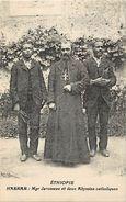 Ref V159- Ethiopie - Harrar - Monseigneur Jarosseau Et Deux Abyssins Catholiques - Carte Bon Etat  - - Ethiopie