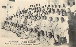 Ref V153- Ethiopie - Diré Daoua - Ecole Tenue Par Les Freres De Saint Gabriel - Carte Bon Etat  - - Ethiopia