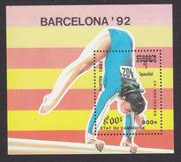Cambodia, Scott #1144, Mint Hinged, Olympics, Issued 1991 - Cambodge