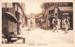 ZANZIBAR - Topo H / In The Street - Beau Cliché Animé - Tanzanie