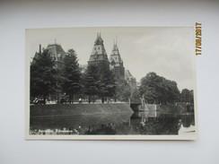 NETHERLANDS AMSTERDAM RIJKSMUSEUM , TRACTOR , OLDTIMER   , OLD  POSTCARD  ,0 - Amsterdam