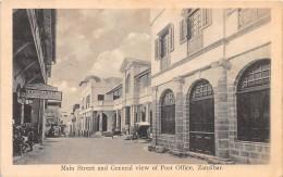 ZANZIBAR - Topo H / Main Street - Tanzanie
