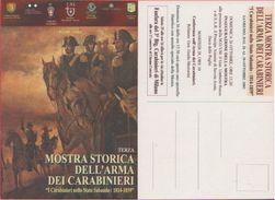 Cartolina - Mostra Storica Dell'arma Dei Carabinieri. Sanremo Ottobre 2003 - Cartoline