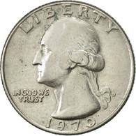 États-Unis, Washington Quarter, Quarter, 1970, U.S. Mint, Denver, TTB+ - Federal Issues