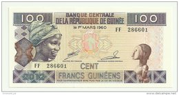 Guinea 100 Francs 2012 UNC - Guinea
