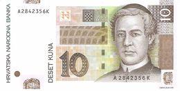 CROATIA 10 KUNA 2001 PICK 38a UNC - Croatie