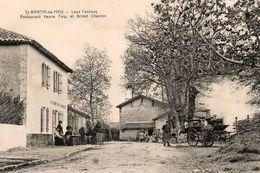 SAINT MARTIN DE HINX Lous Cassous Restaurant Veuve Foix Et Brivet Charron - Autres Communes