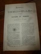 1882 JOURNAL DES DEMOISELLES :Mme De Staal De Launay; L'envie; Economie Domestique;Correspondance; Revue Musicale; Etc - Non Classés
