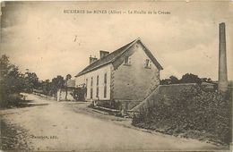 -dpts Div-ref-RR254- Allier - Buxieres Les Mines - Moulin A Eau De La Creuse - Moulins A Eau - Batiments Et Architecture - Autres Communes