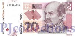 CROATIA 20 KUNA 2001 PICK 39a UNC - Kroatien