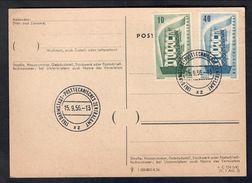 GERMANY GERMANIA REP. FED.  1956 Serie Europa Primo Giorno C.014 - [7] Federal Republic