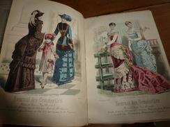 1883 JOURNAL DES DEMOISELLES : Gravures De La Mode De Paris ;Mémoires Du Comte De Ségur;Conseil à Marguerite;etc - Chromos