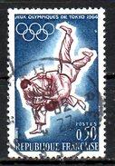 FRANCE. N°1428 Oblitéré De 1964. J.O. De Tokyo/Judo. - Summer 1964: Tokyo