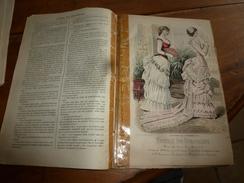 1882 JOURNAL DES DEMOISELLES :Gravures De La Mode De Paris ;Mme De Staal; Correspondance De Florence à Jeanne;etc - Chromos