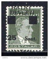 HATAY - N° 17B** - ATATÜRK - 1934-39 Sandjak Alexandrette & Hatay