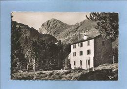 Vernet-les-Bains (66) Chalet-Hôtel Du C.A.F. à 2200 M. Massif Du Canigou 2 Scans 03/07/195- Voiture Décapotable - Autres Communes