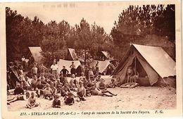 CPA Stella Plage-Camp De Vacances De La Société Des Foyers (139111) - France