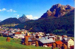 Sappada - Belluno - Panorama Con Monti Creta Forata E Tuglia - Formato Grande Viaggiata – Ar - Belluno