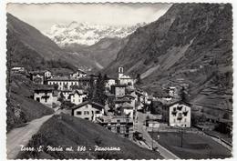 TORRE S. MARIA - PANORAMA - SONDRIO - 1960 - Sondrio