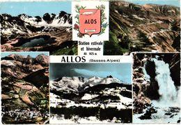 ALLOS  .. MULTIVUES ... BLASON     ... 1965 - France